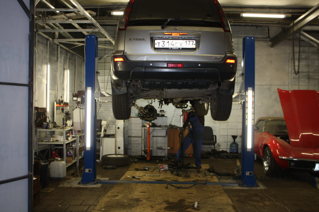 Ремонт и замена маховика Nissan X-Trail T-31 2.2